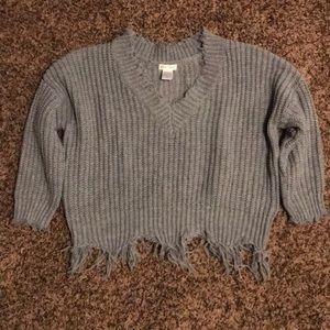 Main Strip v neck sweater
